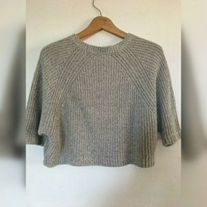 Silence + Noise crop top sweater